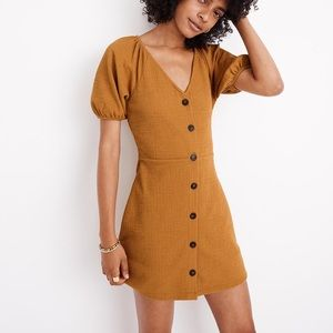NWT Madewell Puff Sleeve Dress